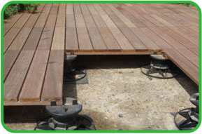 Timber Decking Support Pads
